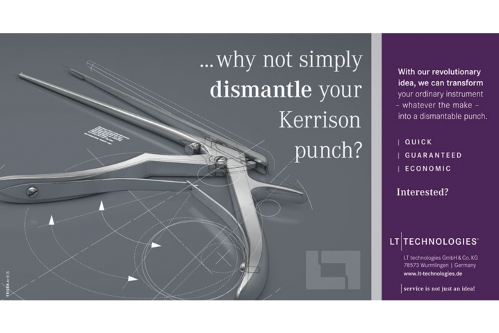 ...why not simply dismantle your Kerrison punch?